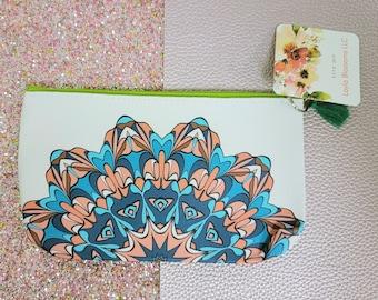 Mandalla pencil pouch/ Mandalla/ Pouch / Layla Blossoms