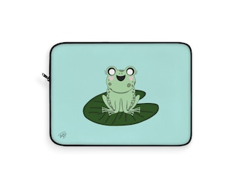 Dawn the frog Laptop Sleeve