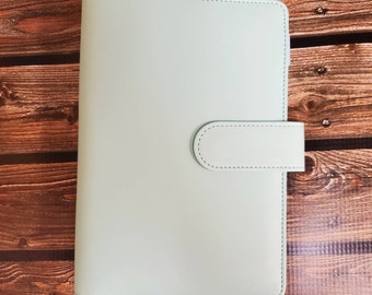 ONLY Faux Leather A6 Budget Binder/ Planner/ Journal (No envlopes included)/ StickersandMorebyLB/ Layla Blossoms