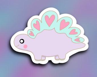 Love-asurus Dino vinyl decal, tumbler sticker, car decal, weatherproof/ StickersandMorebyLB/ Layla Blossoms/vinyl sticker