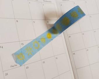 Sunshine Washi Tape/ StickersandMorebyLB/ Layla Blossoms