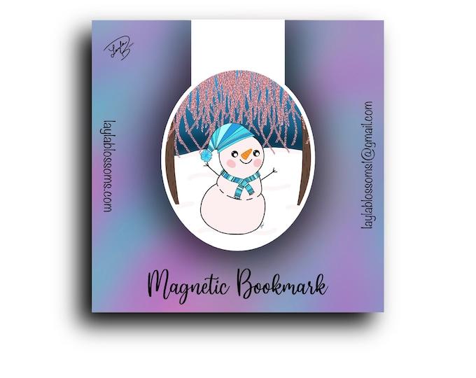 Glistening melody Magnetic Bookmark/ StickersandMorebyLB/ Layla Blossoms