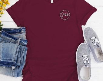 Waymaker Jersey Short Sleeve Tee/ Layla Blossoms/ Stickersandmorebylb