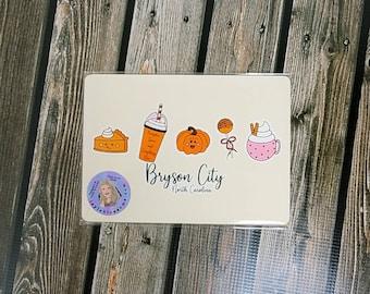 Punkin Art Print/ Cottage core/ Layla Blossoms/ StickersandMoreByLB/ Art Decor