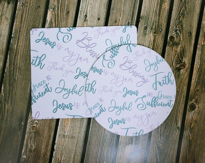 Faith pt 6 Mousepad/ Christian/ Layla Blossoms/ StickersandMoreByLB