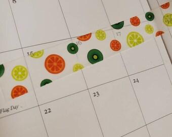 Fruit Washi Tape/ StickersandMorebyLB/ Layla Blossoms