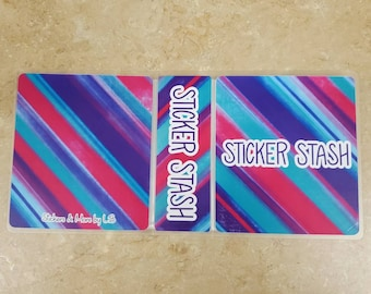 Sticker Stash Sticker Album/ StickersandMorebyLB/ Layla Blossoms
