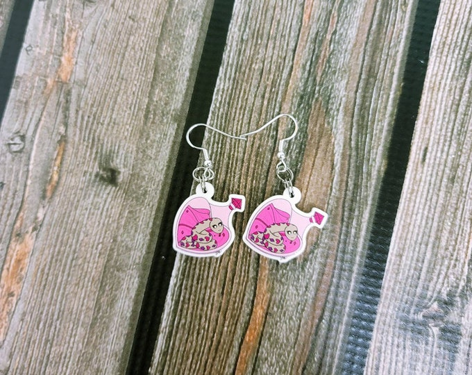 Poisonous Love Earrings/ Layla Blossoms/ sterling silver/ stickersandmorebylb