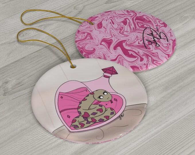 Poisonous Love Ceramic Ornaments