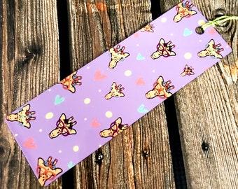 50% OFF SALE Clara the Giraffe bookmarks (metal & cardstock option)/ StickersandMorebyLB/ Layla Blossoms