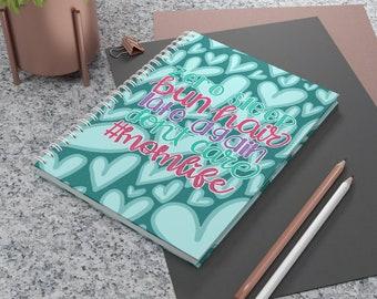 Mom Life Spiral Notebook - Ruled Line