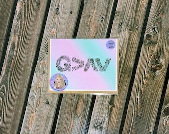 God is greater card-  greeting card- StickerandMorebyLB/ StickersandMorebyLB/ Layla Blossoms