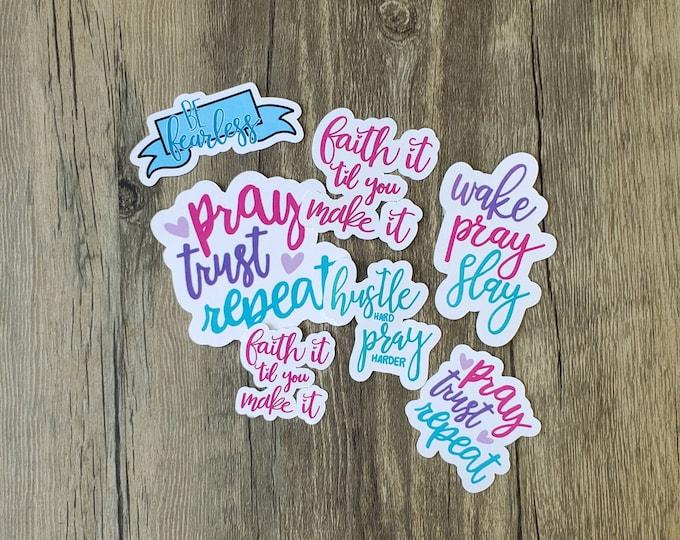 Faith pt 2 sticker pack/ StickersandMorebyLB/ Layla Blossoms/ StickersandMorebyLB/ Layla Blossoms