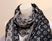 Unique Pashmina scarf Winter Fashion scarf Cool Gift Christmas Unisex scarf Men scarf