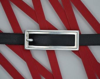 elongated double buckle belt buckle 15-002 Buckle magnificentclose