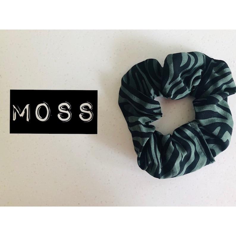 Moss Scrunchie