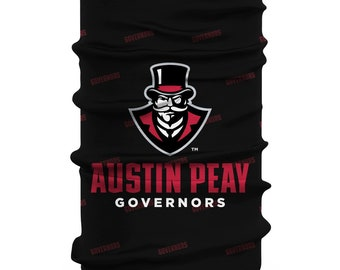Austin Peay State University Governors Neck Gaiter Camo Green