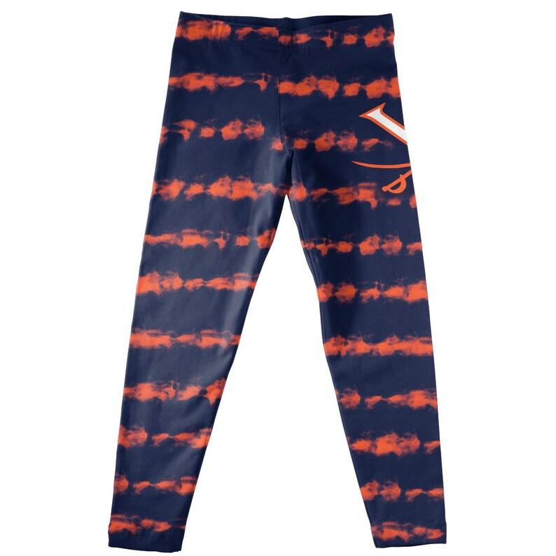Virginia Cavaliers Tie Dye Navy Leggings