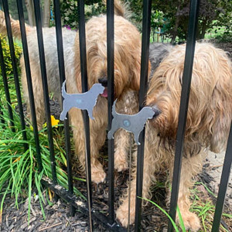 Otterhound Club Hound Fundraiser Garden Stakes Magnets  image 0