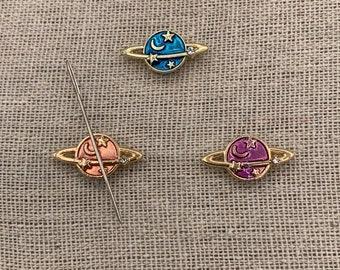 Mini Star Planet Needle Minder | Moon | Constellation | Galaxy | Space | Magnetic Needle Minder | Needle Nanny | Cross Stitch | Magnet