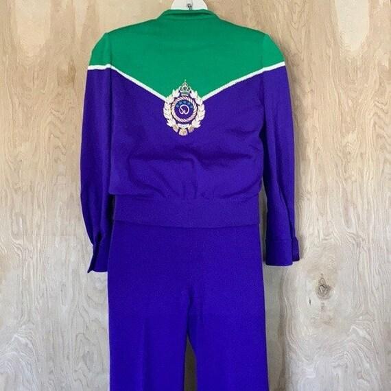 90s Vintage, St. John Knit Collection, Purple Gre… - image 8