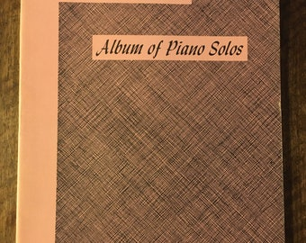 Album Of Piano Solos Florence Goodrich Piano Book Sheet Music
