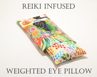 Eye Pillow Reiki Infused Weighted Eye