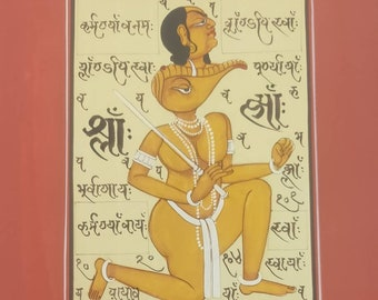 Hand made tantra painting set of any 3 painting