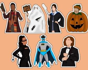 Wynonna Earp Halloween Stickers | Sticker | Weatherproof