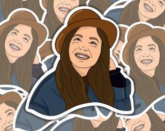 Dominique PC Sticker | Waverly Earp | Stickers