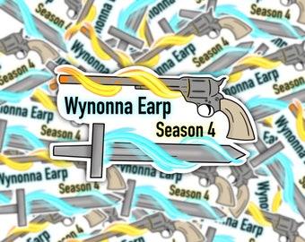 Wynonna Earp Season 4 Weatherproof Sticker | Peacemaker