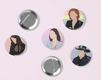 Wynonna Earp Character Buttons | Pin Badge