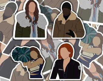 Wynonna Earp Season 2 Stickers | Weatherproof | Eapre | Sticker