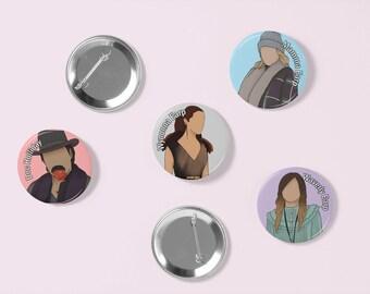 Wynonna Earp Season 3 Buttons | Pin Badge
