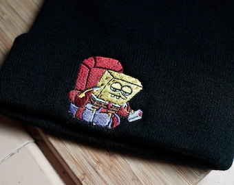 Custom Beanie for Men /& Women Rhode Island State USA America Embroidery Acrylic