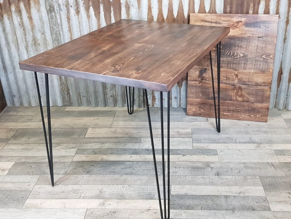 NEW!! Extending dining table with hairpin legs, industrial extending table with hairpin legs, extendable table