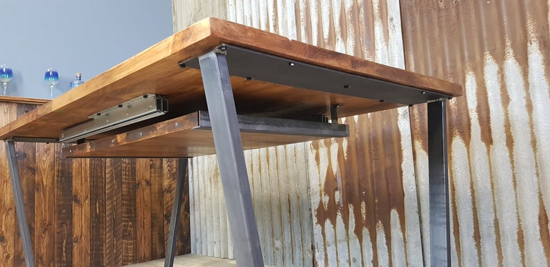 under table extension piece holder for extending dining tables image 0