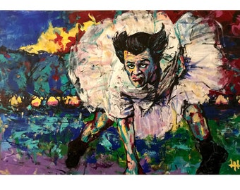 Conor McGregor paper print 18x12 Original art made by Xilberto