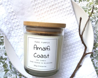 Tuscan Kitchen Scented Scented Soy Candle Amalfi Coast Inspired Tuscan Kitchen Scented Candle
