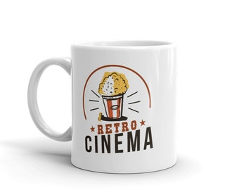 Vintage & Retro Cinema Mug