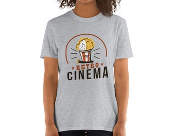 Vintage and Retro Cinema Short-Sleeve Unisex T-Shirt