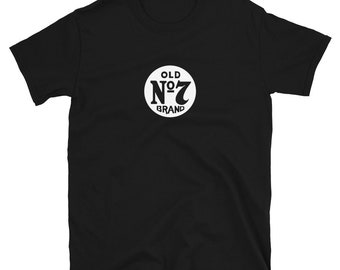 OLD NUMBER 7 (Jack Daniel's Tennessee Whiskey): Mens/Unisex Premium Fitted T-Shirt