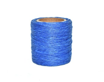 Twine for Wreath Twine for Rosaries Blue Twine Deep Blue and Silver Twine Spool Silver Twine Twine for Wedding Invites FREE SHIPPING