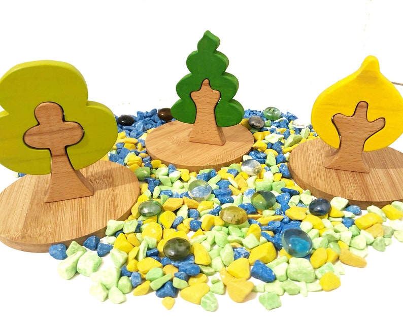 decoration for kids room montessori toys waldorf toys wooden tree toys wood toys for toddlers