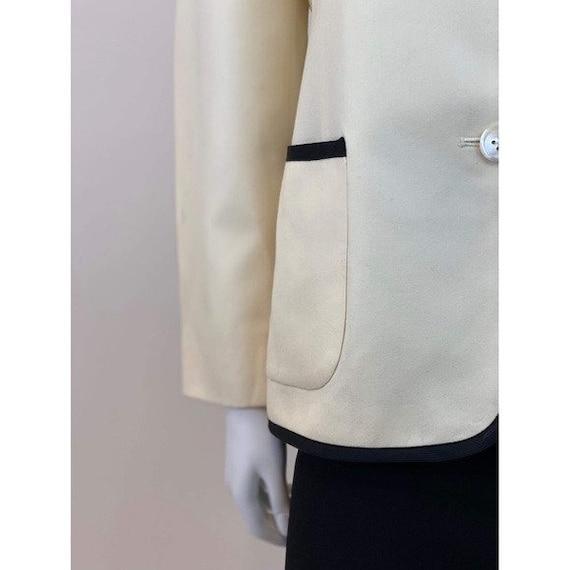 80s Ralph Lauren Trimmed Blazer - image 5