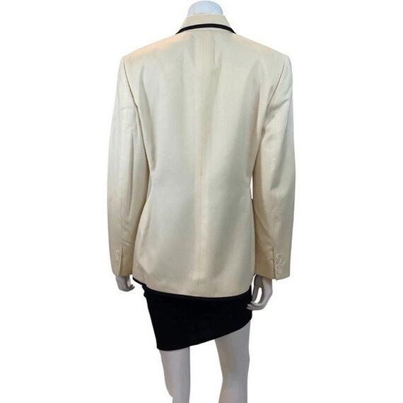80s Ralph Lauren Trimmed Blazer - image 3