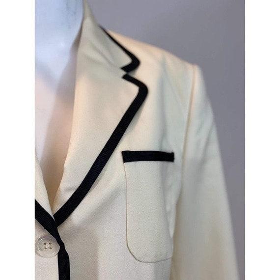 80s Ralph Lauren Trimmed Blazer - image 7