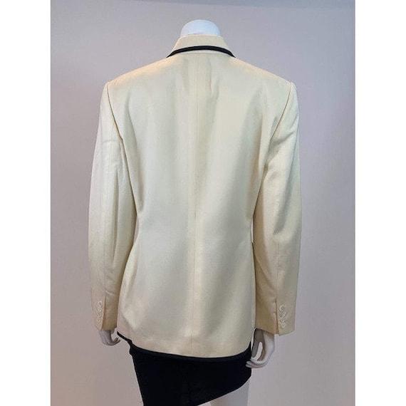 80s Ralph Lauren Trimmed Blazer - image 8