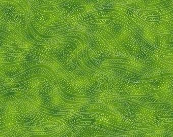 Color Movement - Peridot - 1/4 yard