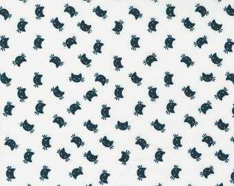 Holiday Essentials Halloween - Cats - Ghost (White) - 1/4 yard